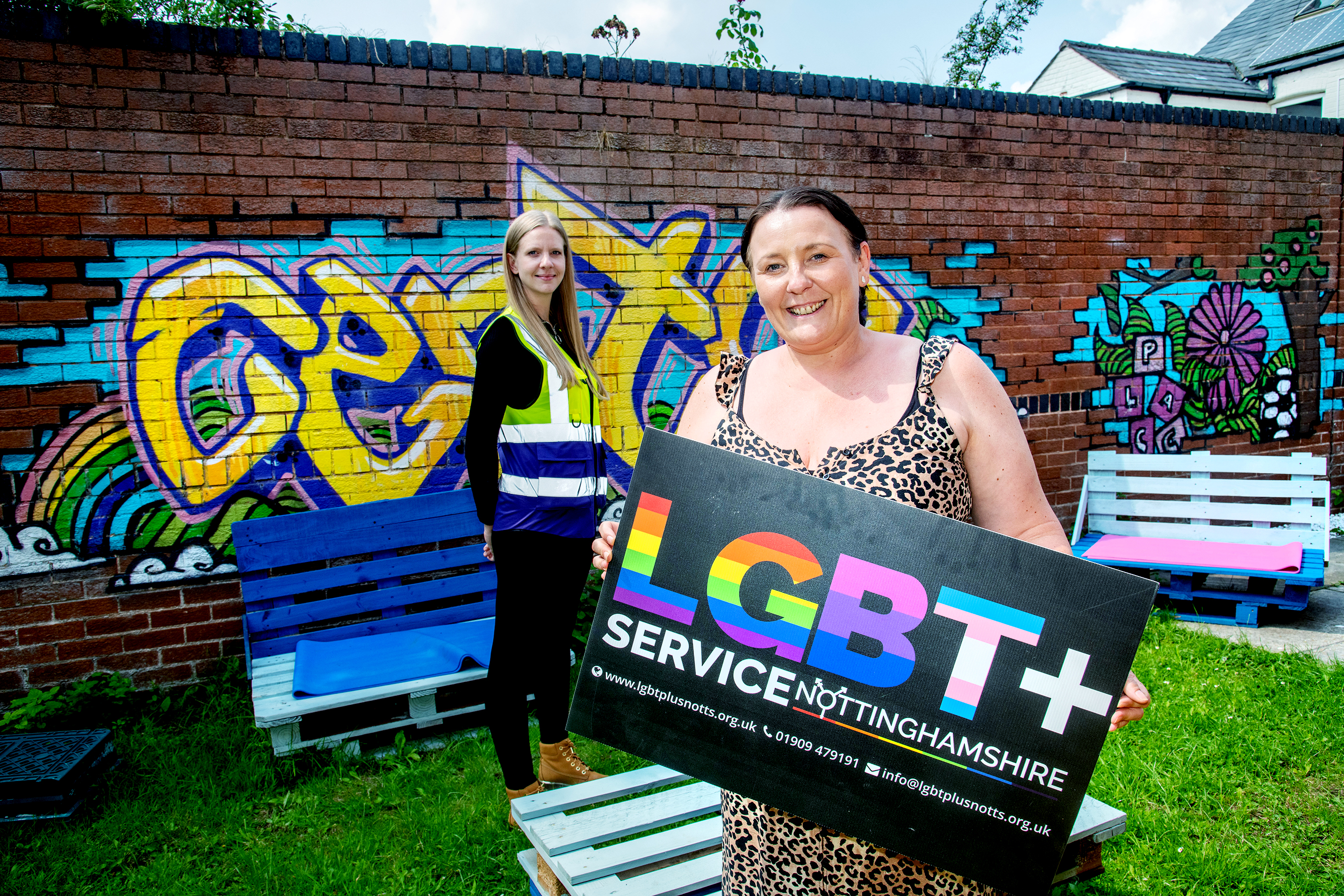 NOTTINGHAMSHIRE LGBT+ CHARITY RECEIVES DONATION FROM AMAZON