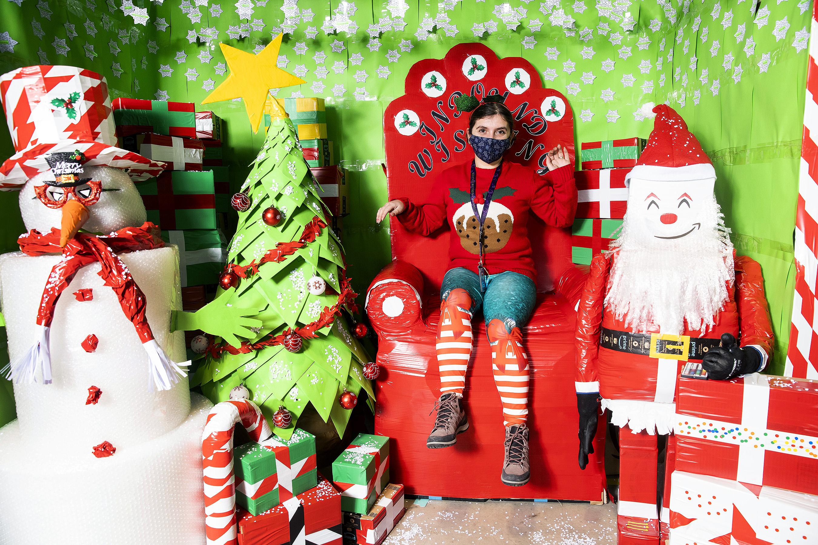 Festive fun for Kegworth team to celebrate countdown to Christmas