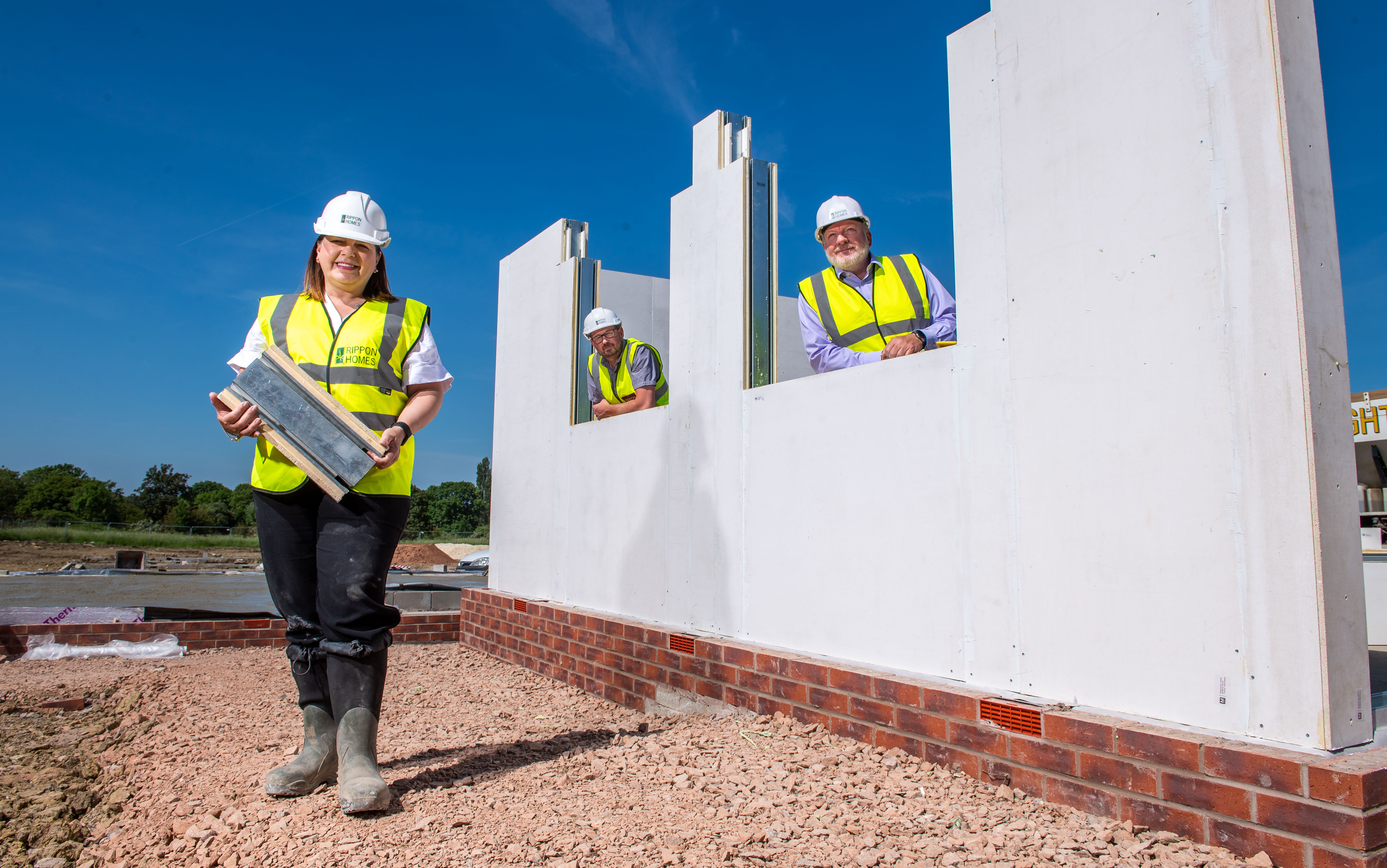 Work starts on low carbon homes in Leicestershire village