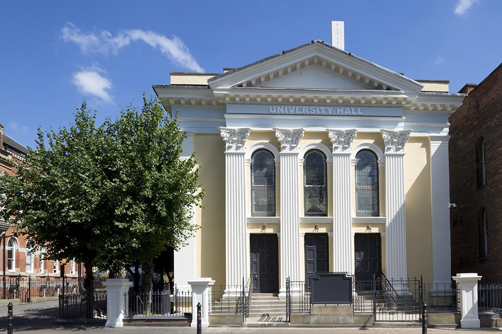 Nottingham Trent University's University Hall wins prestigious restoration award