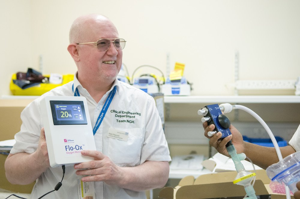 Northampton General takes first delivery of new breathing aids