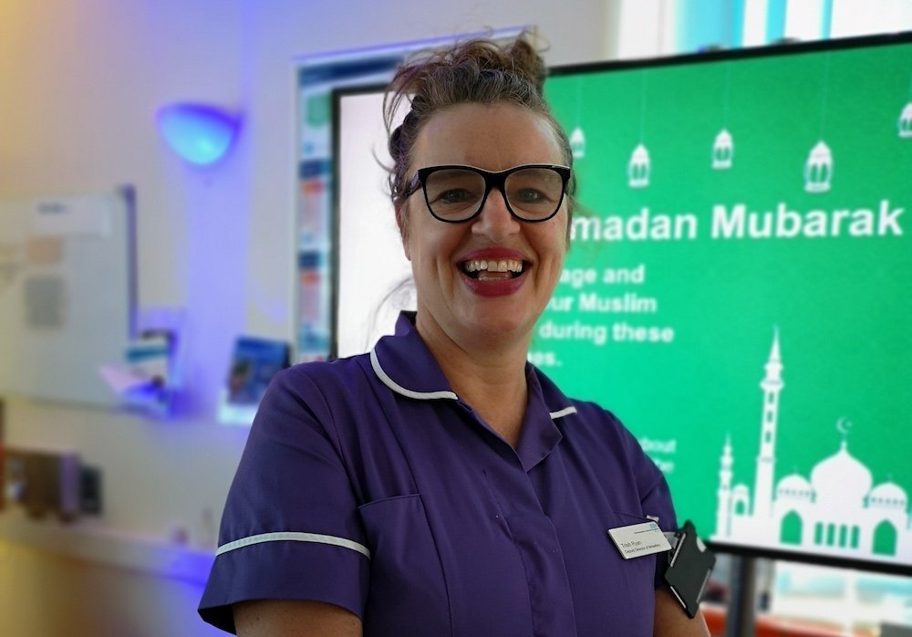 National award for Deputy Director of Midwifery at Northampton General