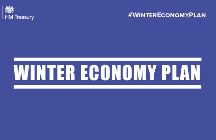 Chancellor outlines winter economy plan in response to latest coronavirus developments.