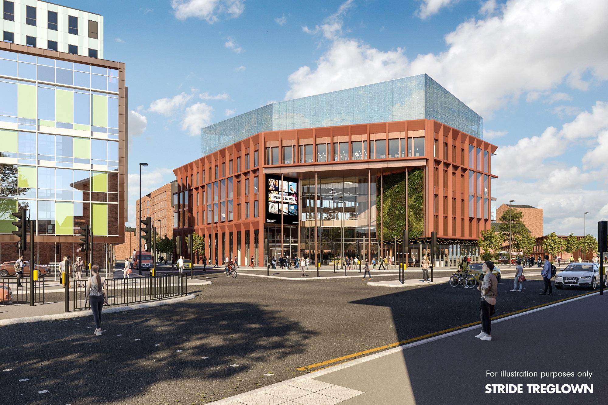 University announces vision for iconic city centre business school