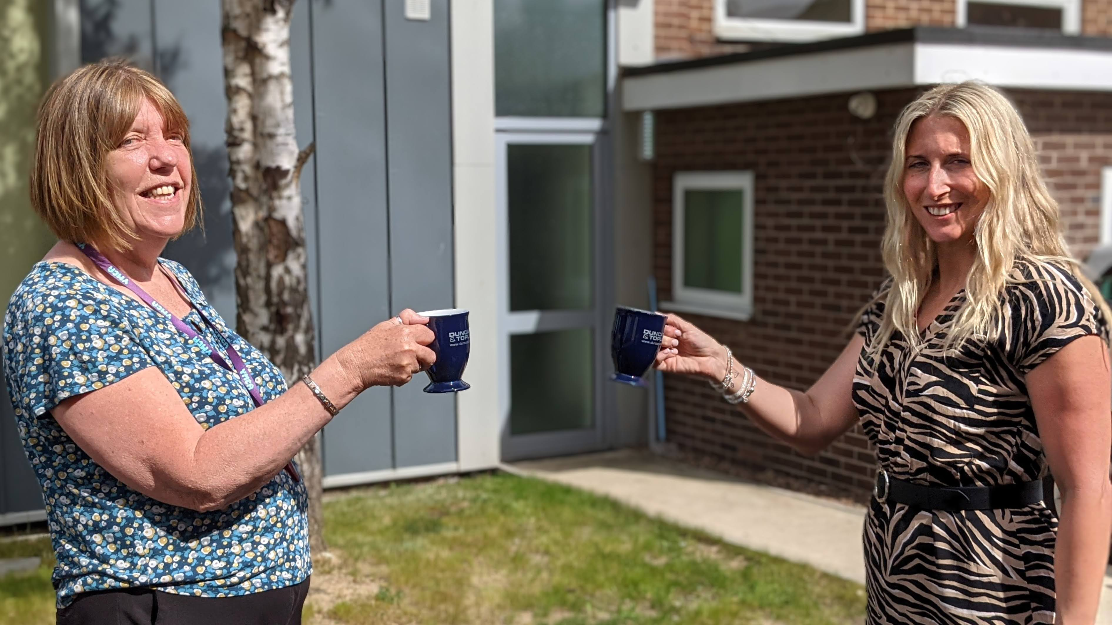 Duncan & Toplis donates 300 mugs to YMCA Lincolnshire's supported living and homeless shelters