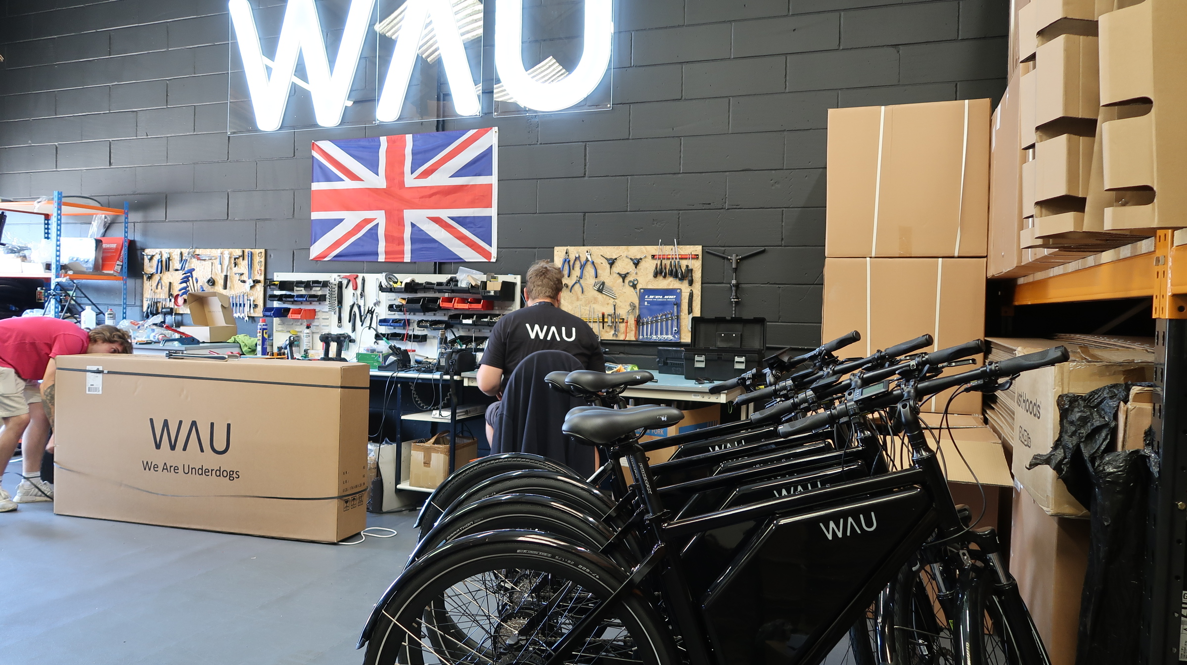 WAU BIKE CHARGED FOR SUCCESS WITH OPENING NEW ESSEX FACTORY