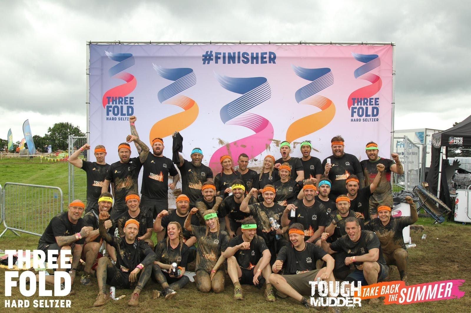 Tough Mudder Charity Success