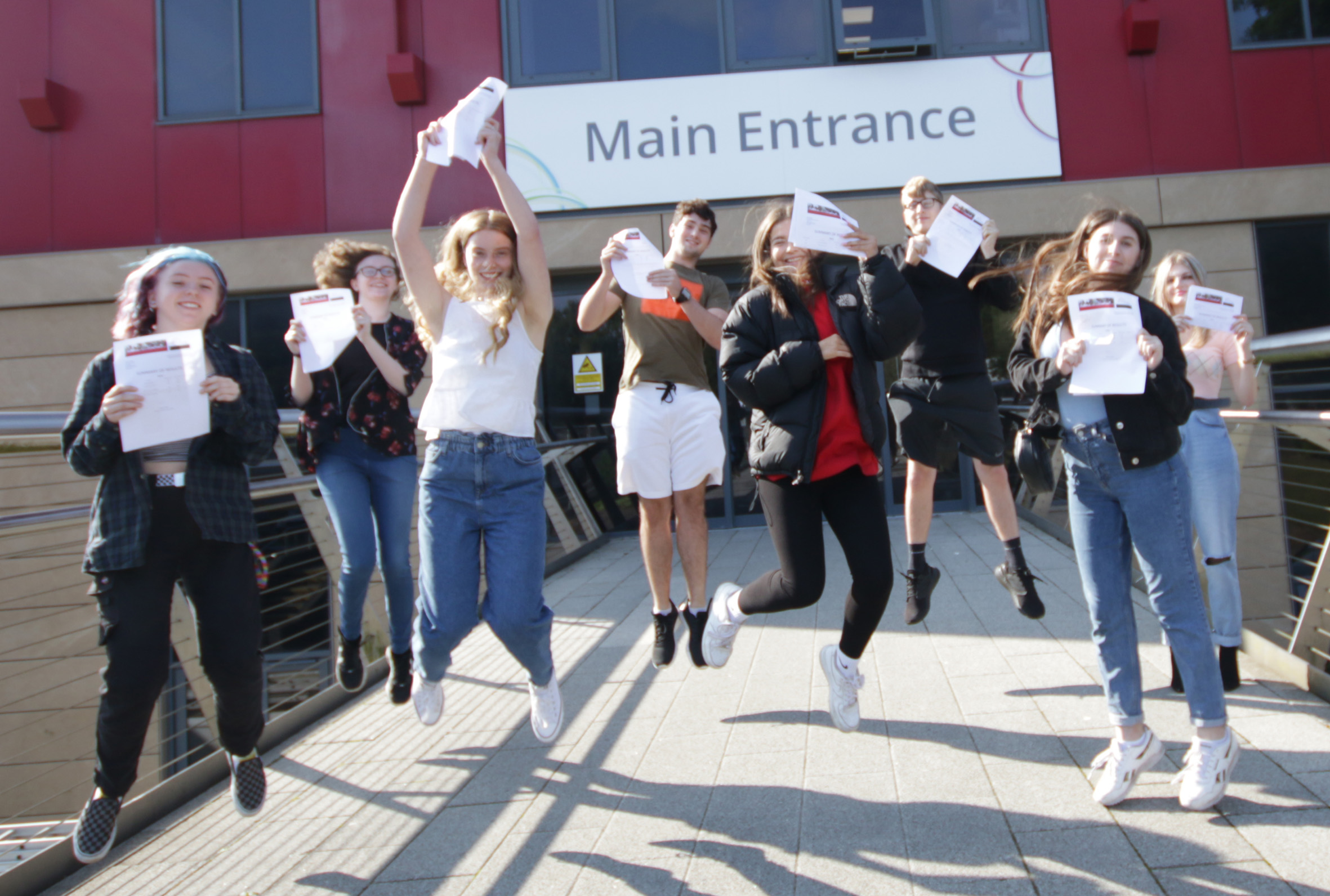 """A-level students hailed after achieving """"outstanding results"""""""