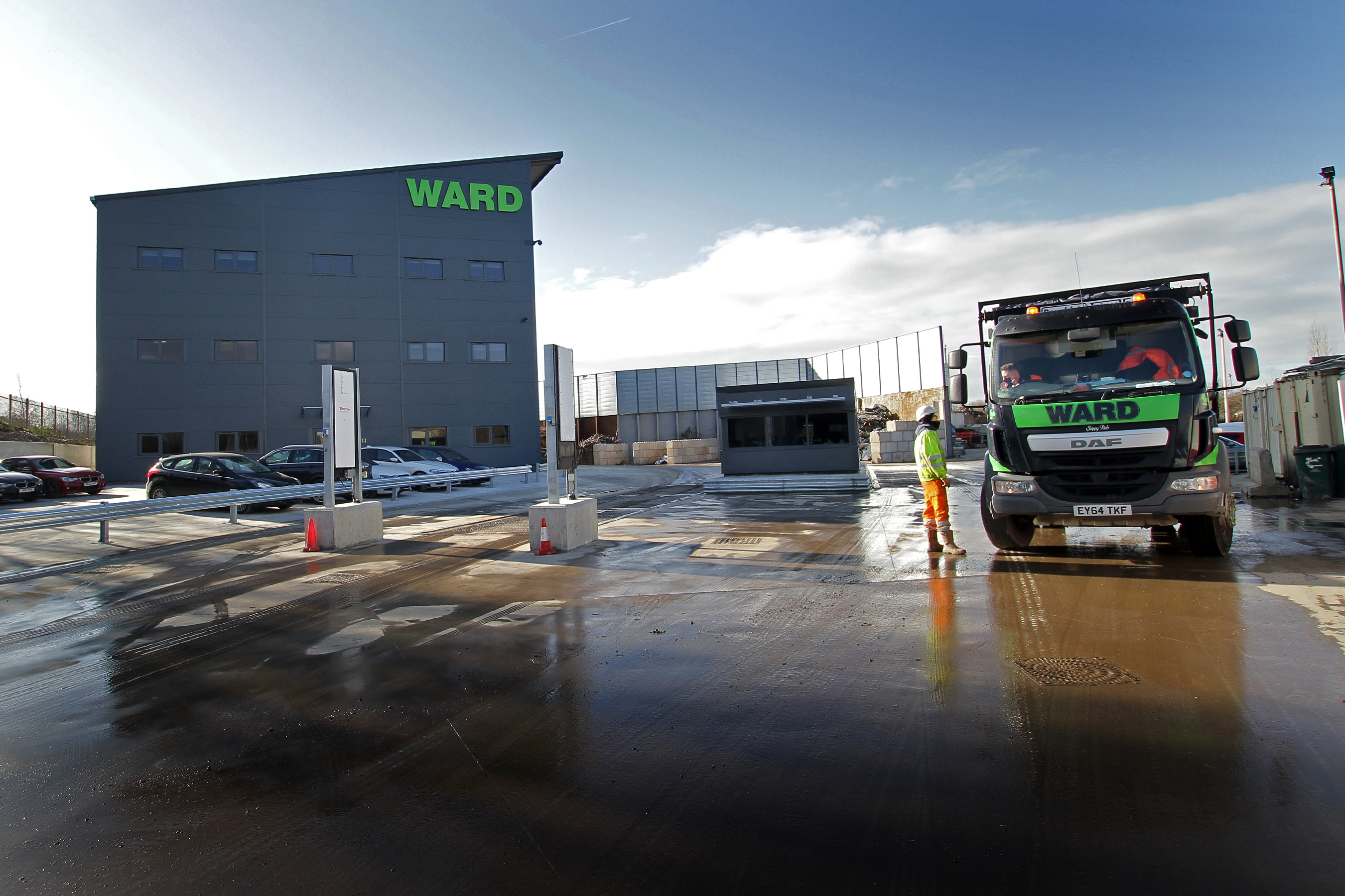 Ward secures waste contract with Derbyshire County Council