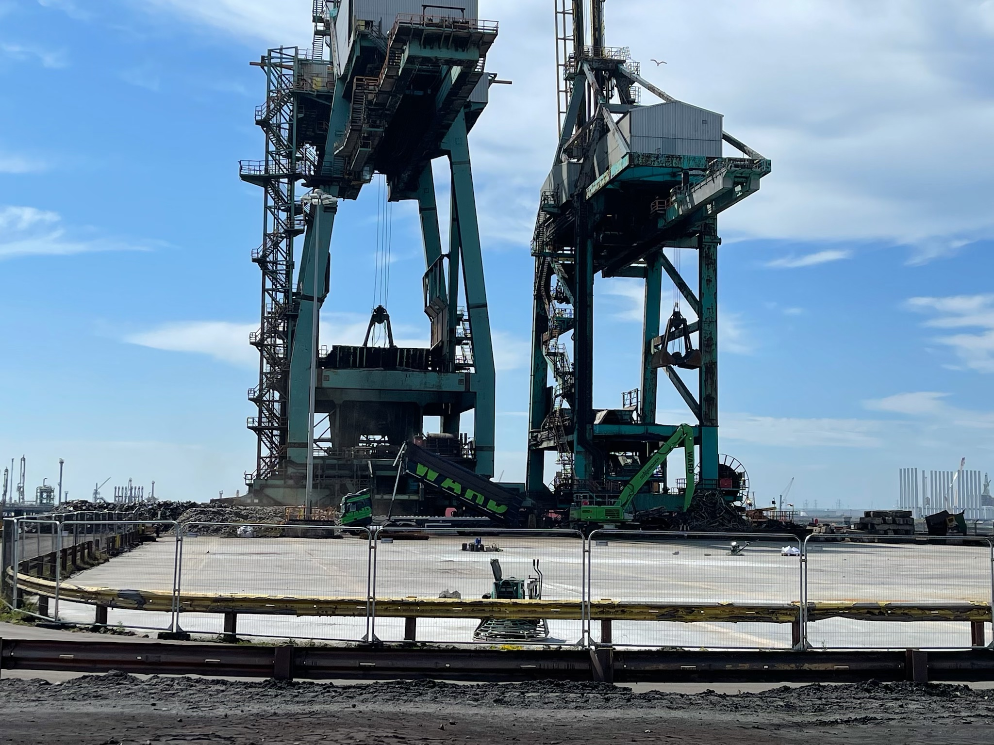 Metal recycling firm expands capabilities in the North East with second deep sea port
