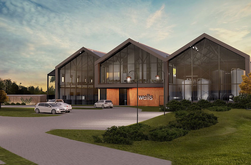 Armsons appointed quantity surveyors for the development of new brewery