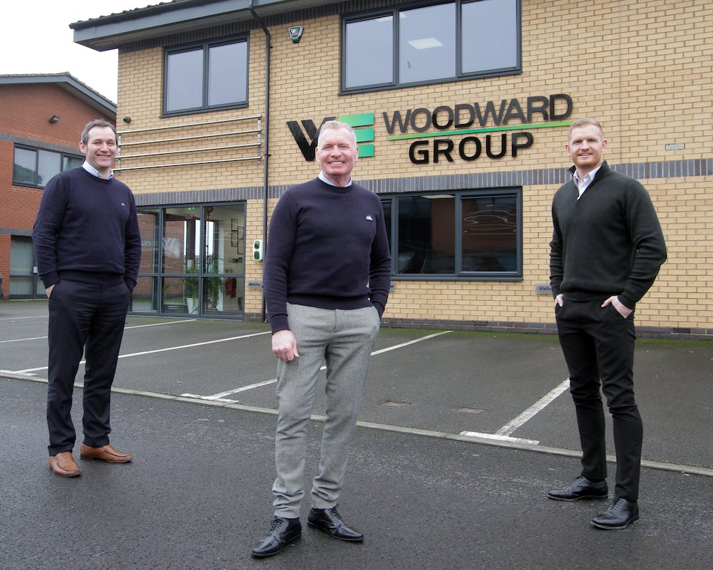 Half year revenues up sixty percent at Woodward Group