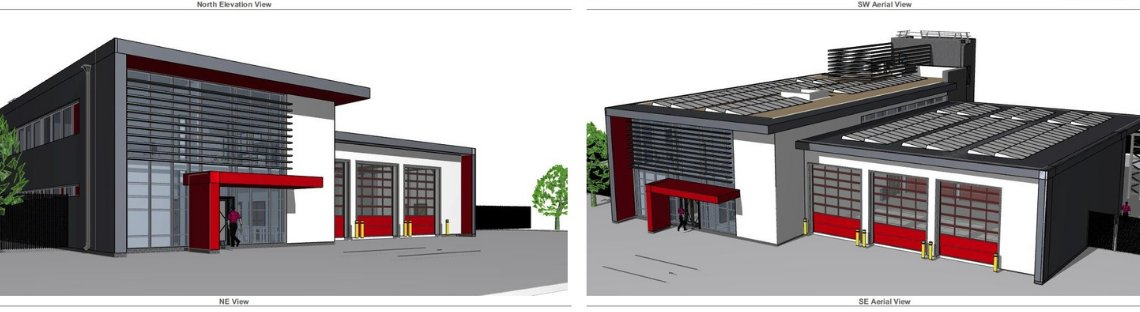PERMISSION GRANTED FOR FIRE STATION AT VESUVIUS, WORKSOP