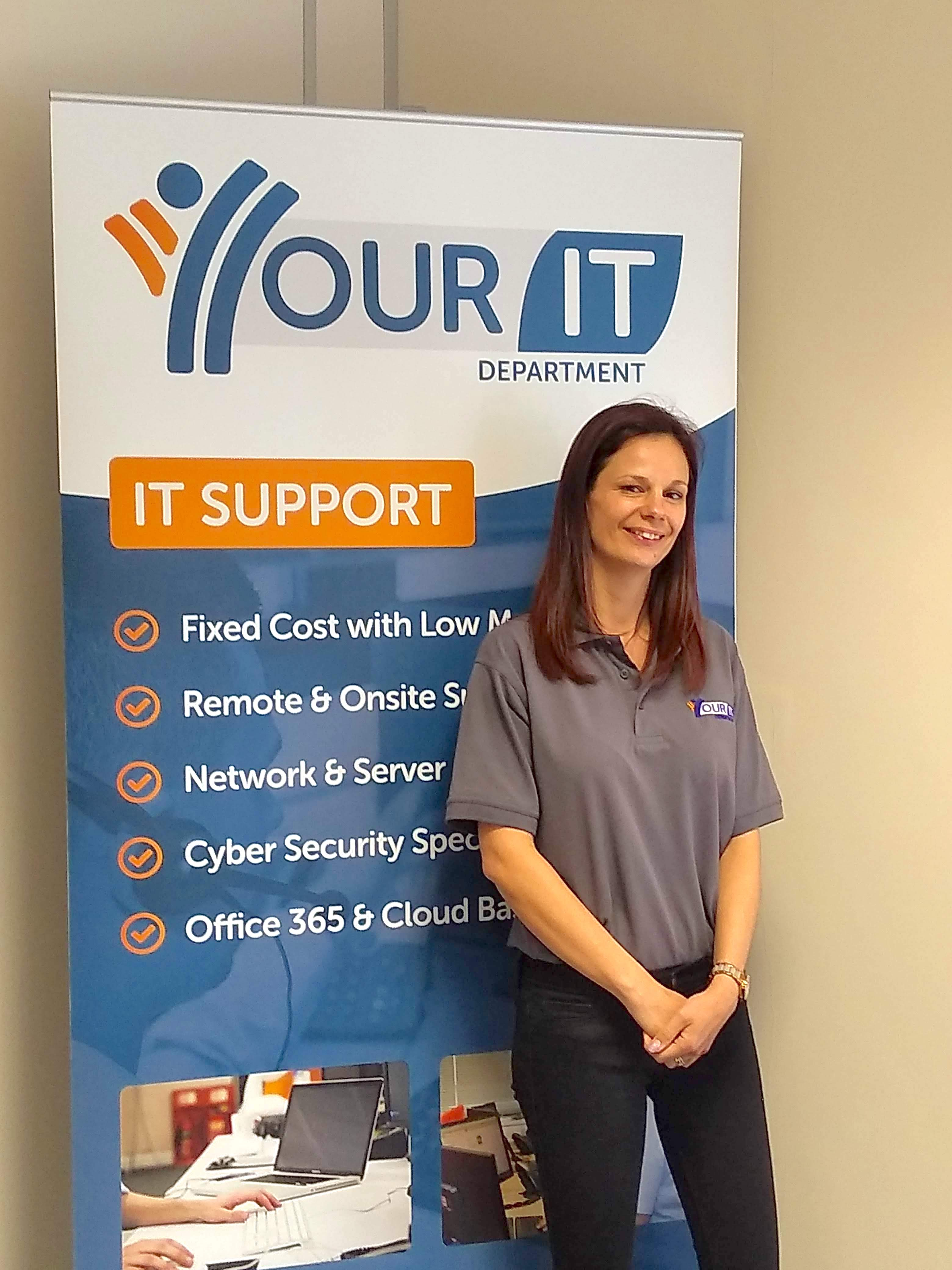 Nottingham-based IT firm pioneers shift with first female employee