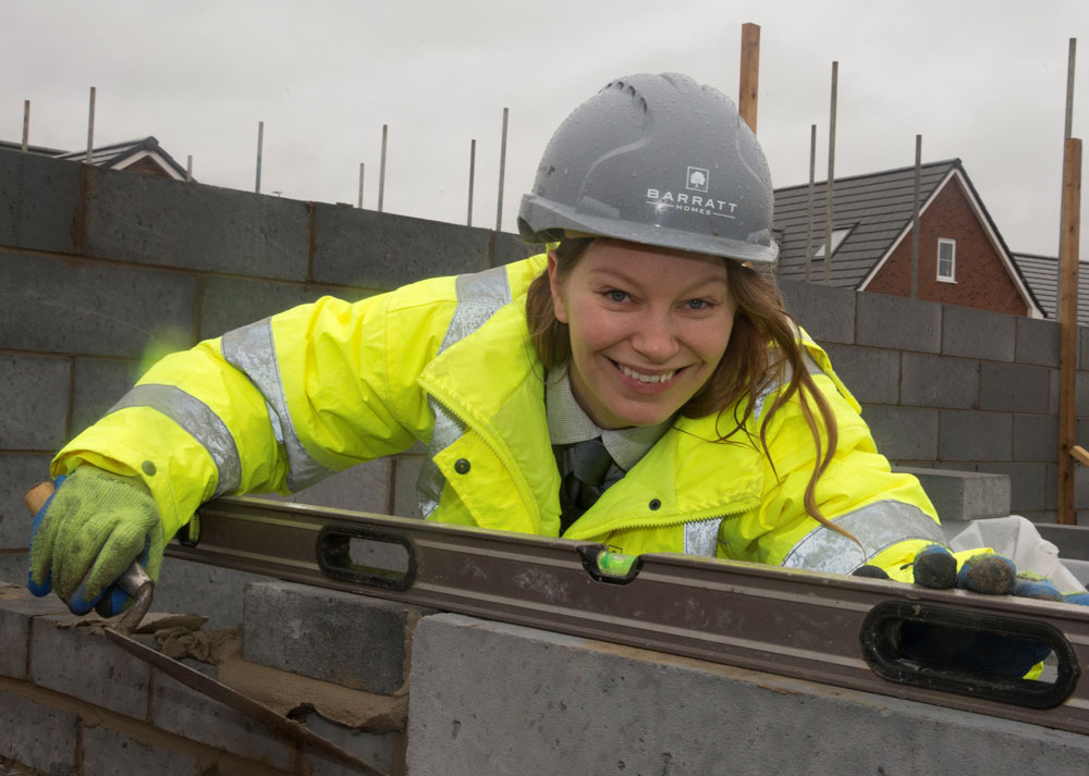 Assistant site manager is paving the way for women in construction