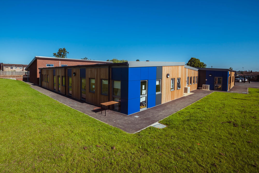 Brand new accommodation at Market Harborough school as works complete