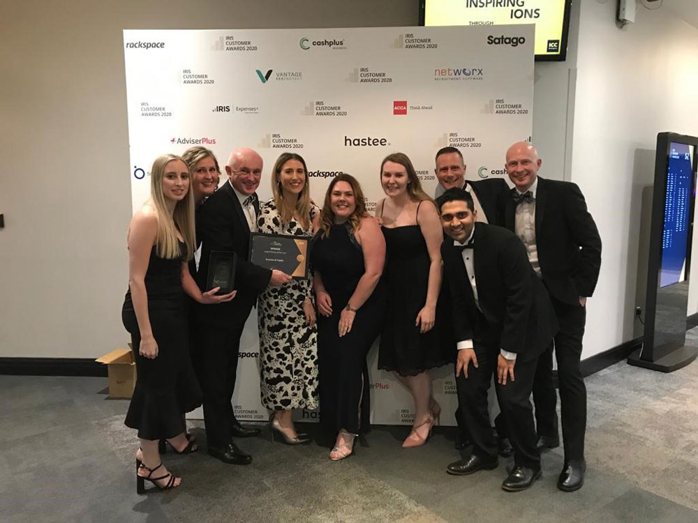 Duncan & Toplis named 'Large Accountancy Practice of the Year'