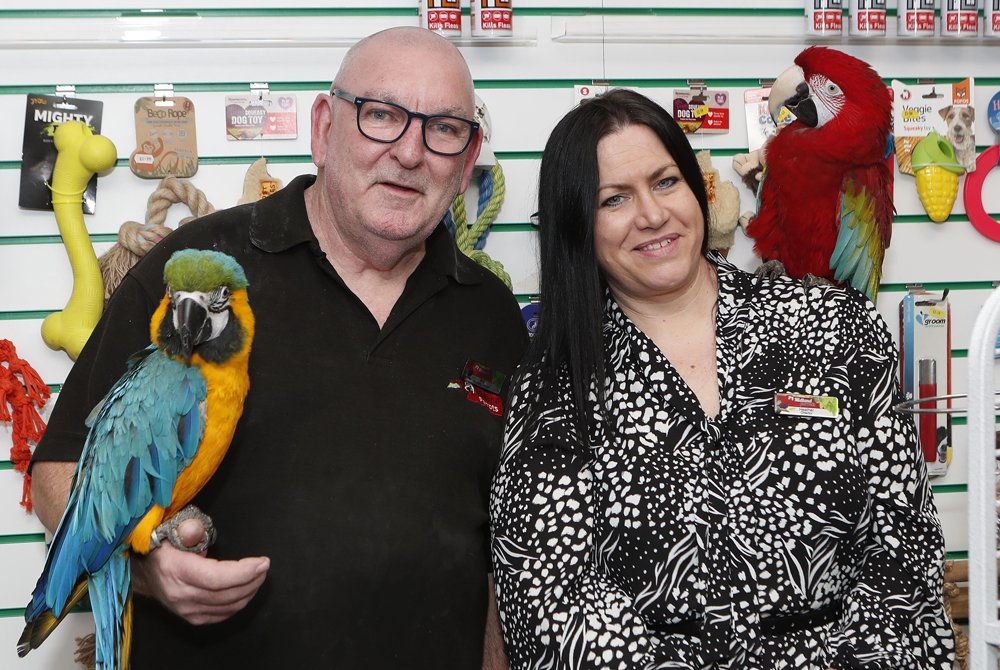 Popular pet shop wings its way to growth   with move next door to busy high street