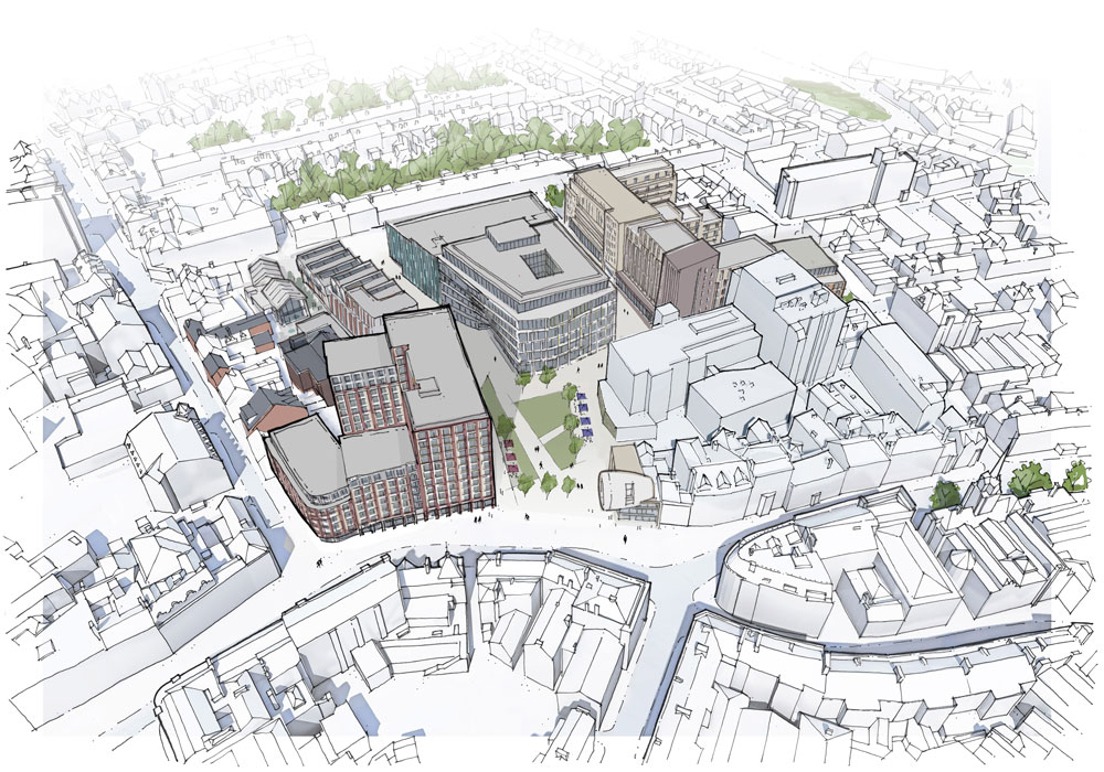 £200m Becketwell Regeneration Scheme gets the go-ahead