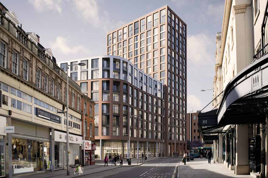 New milestone for £200 million city centre project