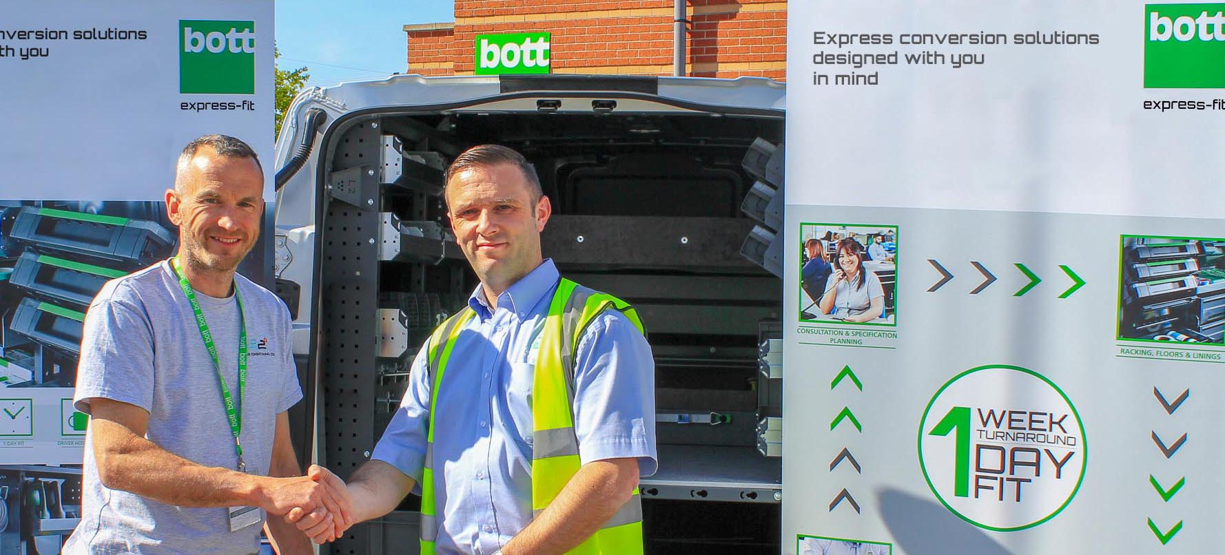 Bott showcases new Express-fit service at Love Business Expo