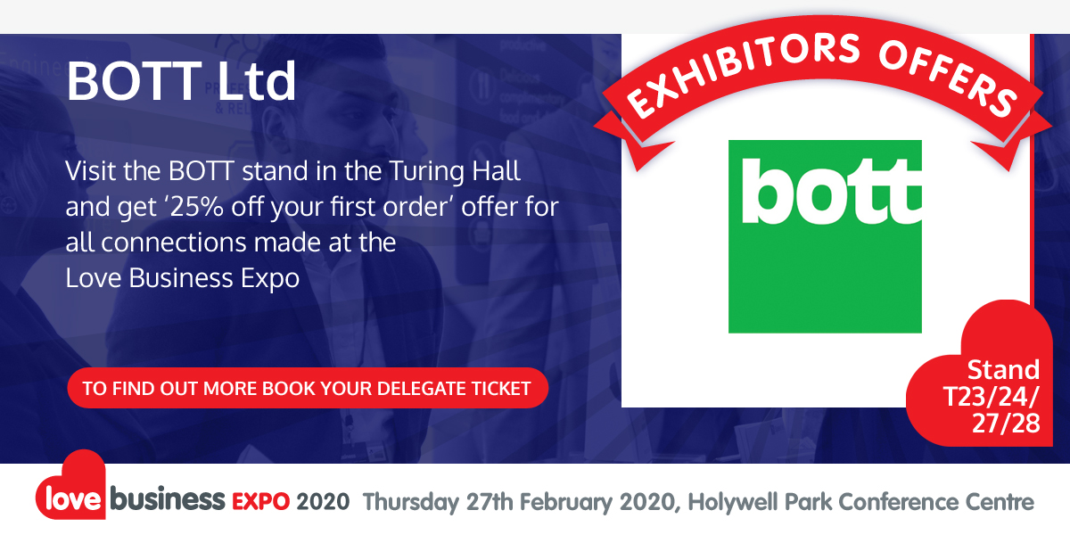 Check out BOTT Ltd's exclusive Love Business EXPO offer!