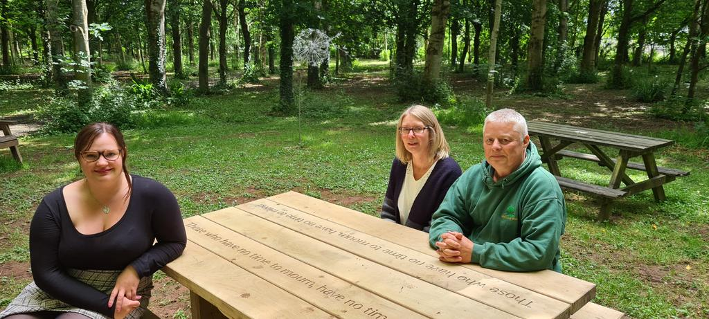 Heritage Wood Visitors Encouraged To Take Time to Remember