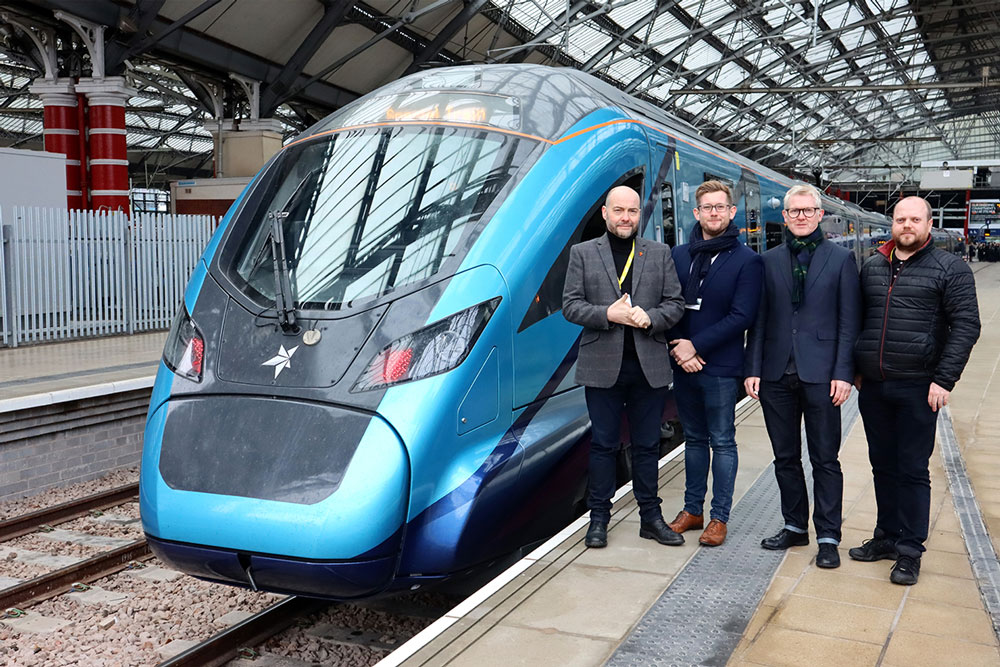 Derby company helps launch new fleet of trains for the TransPennine Express
