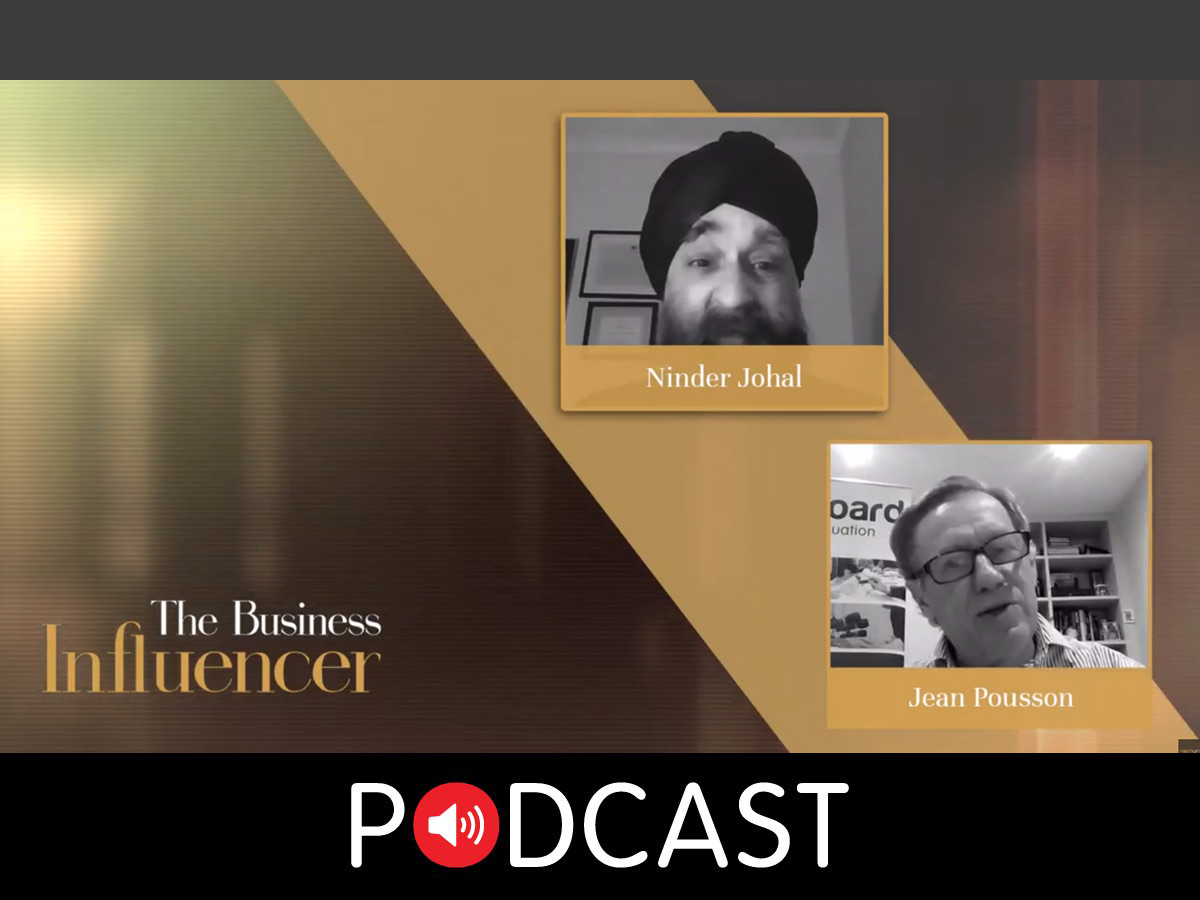 The Impact of Words & Body Language - Jean Pousson | The Business Influencer Podcast | Episode 6