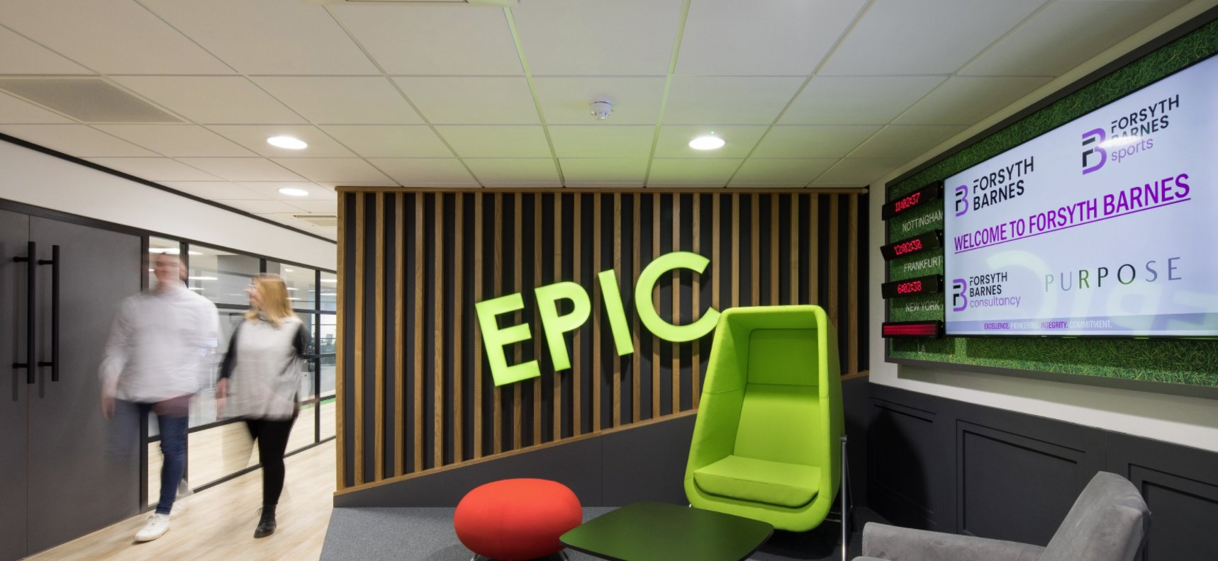 Office Principles delivers international recruitment firm's new £1m HQ
