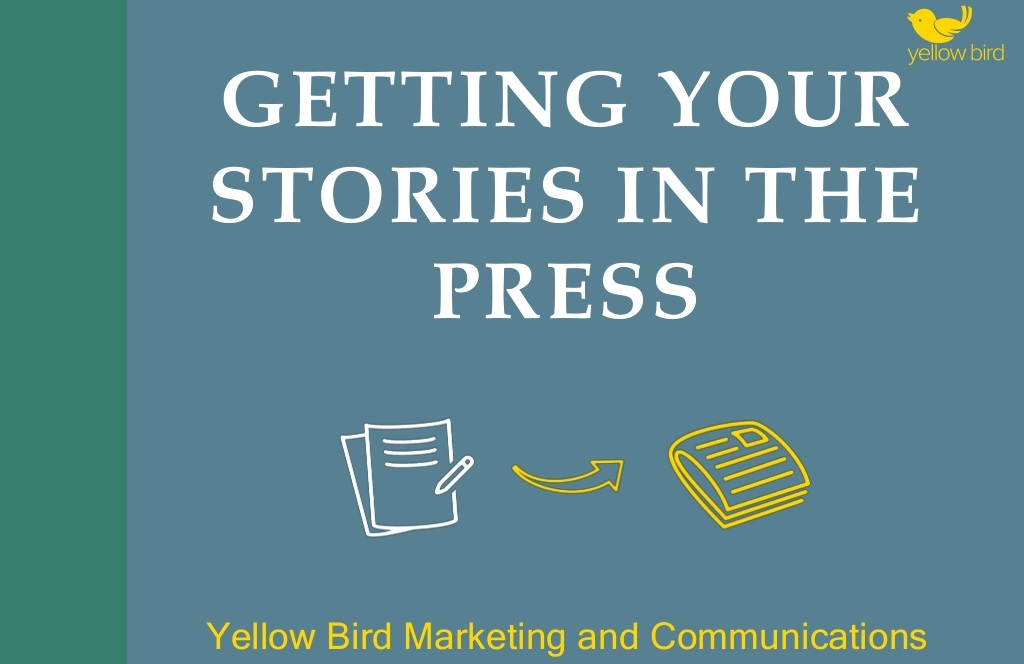 New step-by-step guide to getting your stories in the press