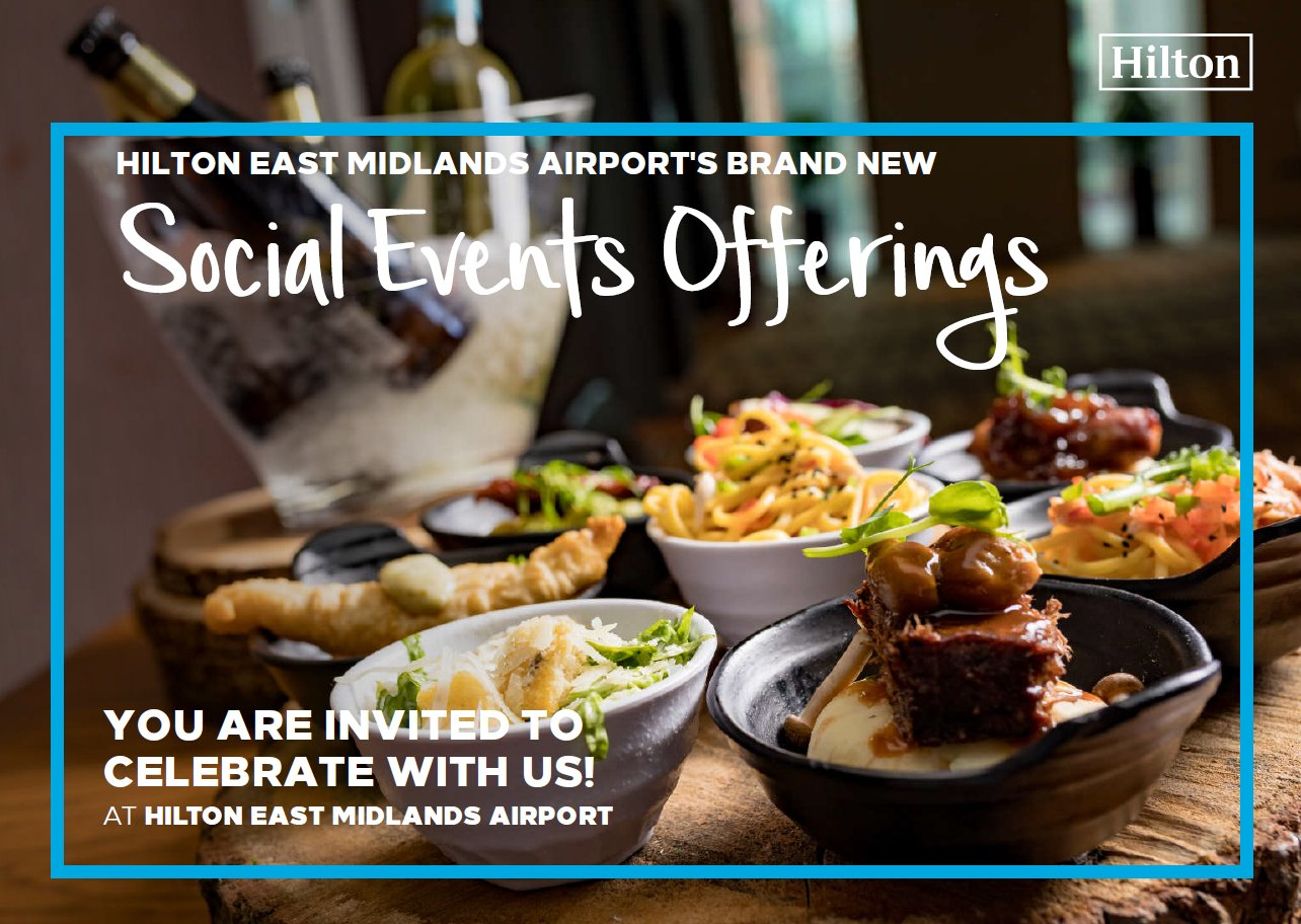 100 YEARS OF HOSPITALITY - JOIN THE CELEBRATION WITH HILTON EAST MIDLANDS AIRPORT!