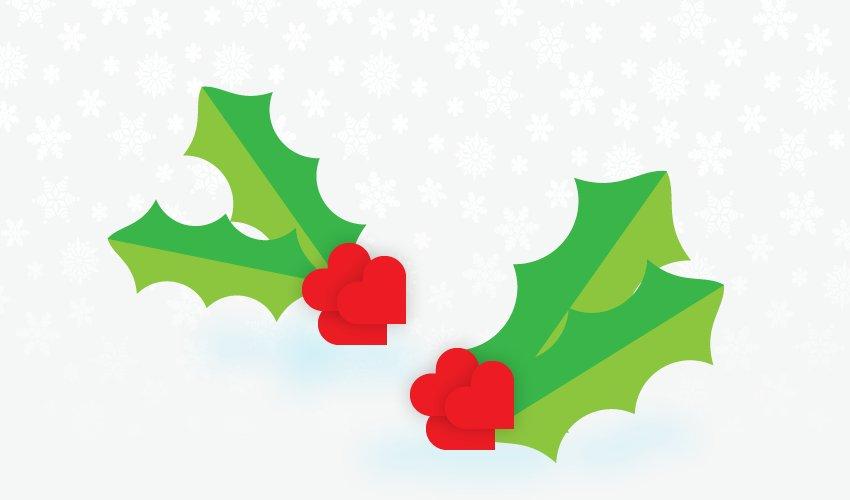 Festive wreaths spread Christmas cheer at Middlebeck