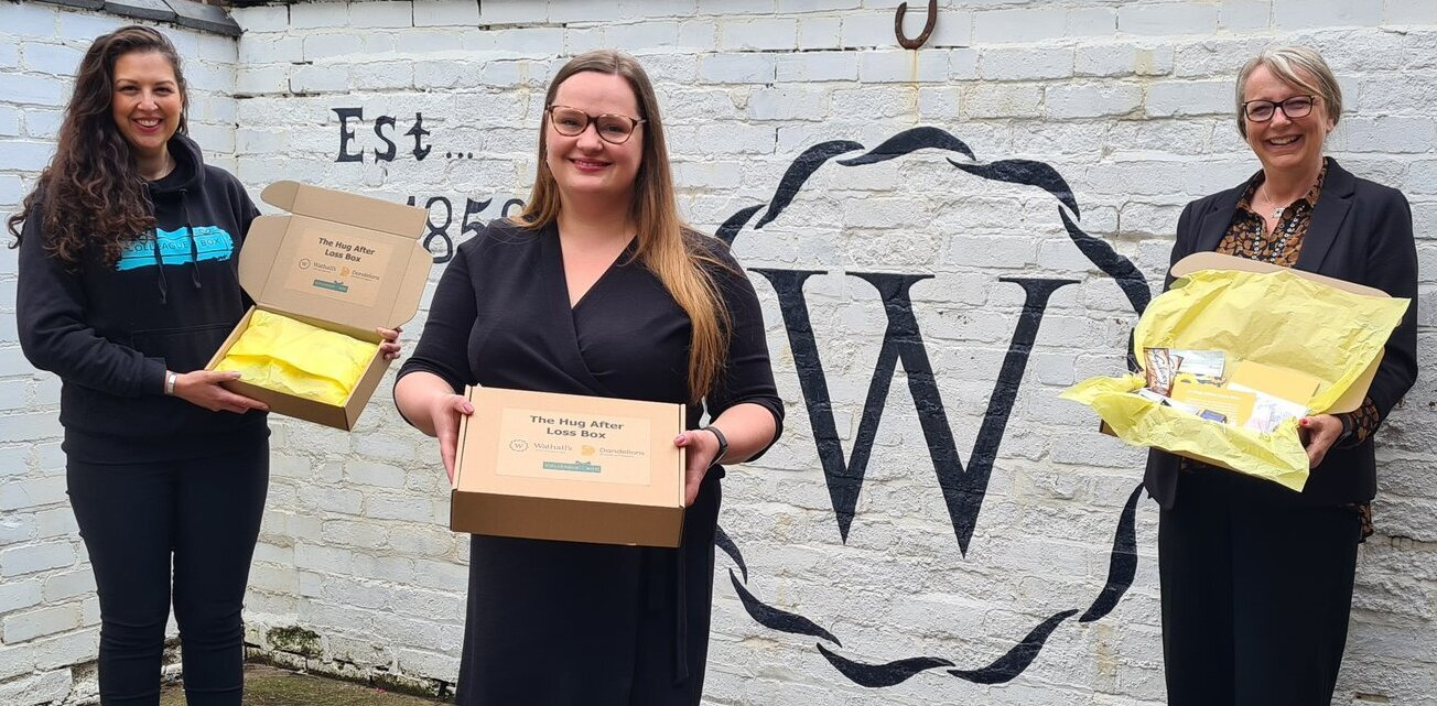Wathall's and Colleague Box Team Up To Offer Bereavement Comfort and Support