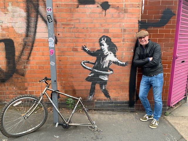 VICTORIA CENTRE BACKS CAMPAIGN TO BRING BANKSY BACK TO NOTTINGHAM