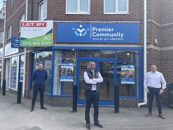 Premier deal for NG as community living support specialist expands into Nottingham