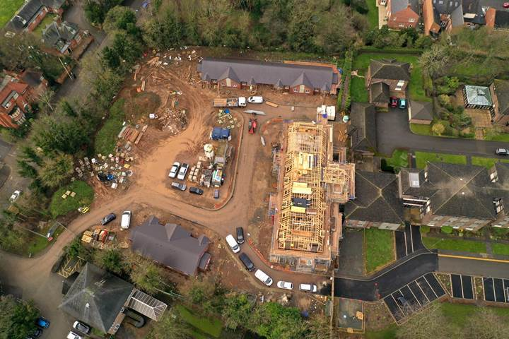 Wyggestons' Almshouse extension reaches new heights in Leicester
