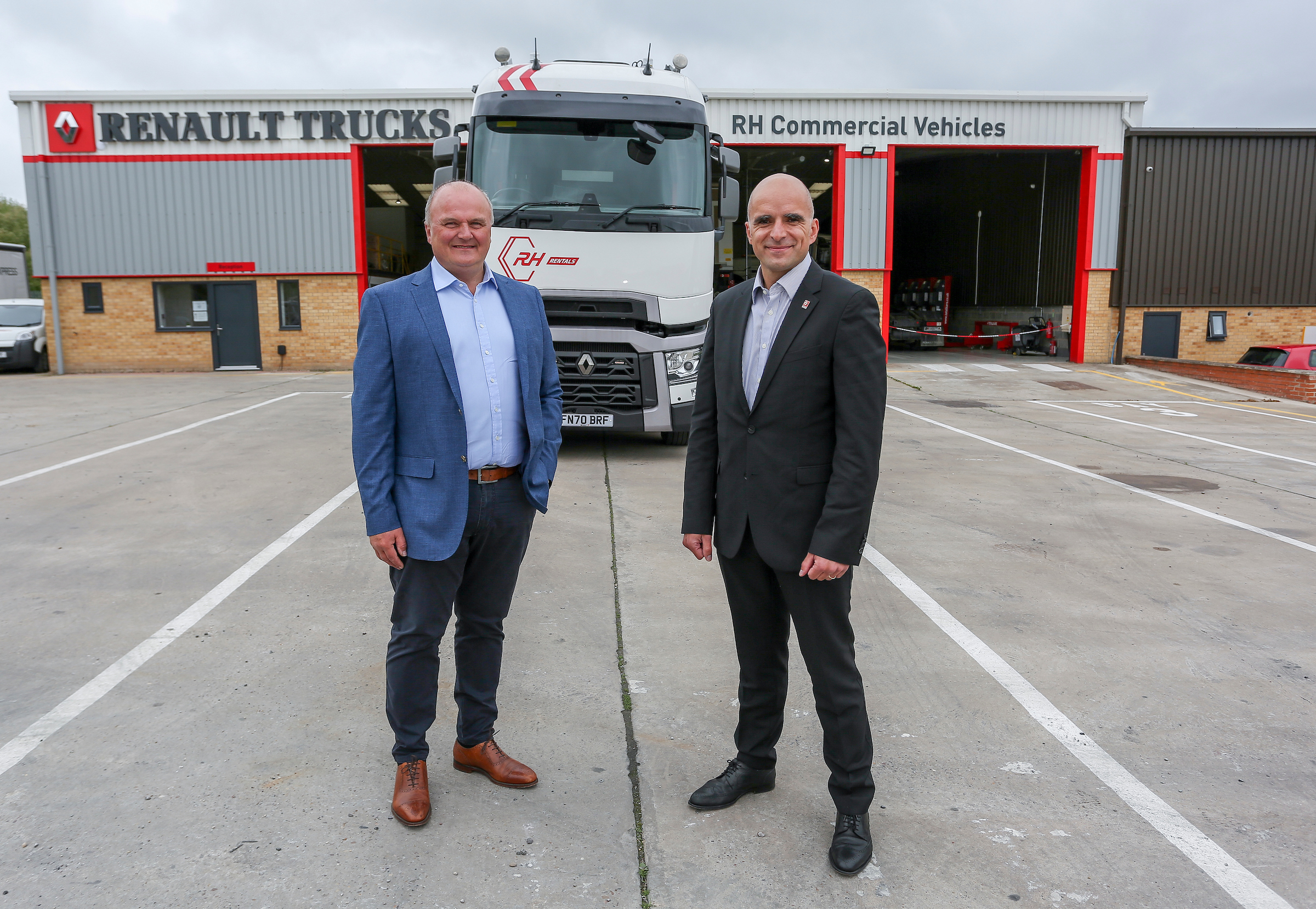 Official Opening of new site for truck firm - RTUK Heads visits new site