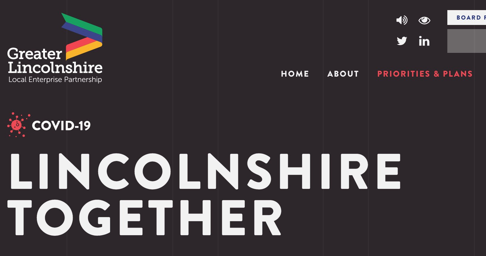 New Website to Support Lincolnshire Communities During Crisis