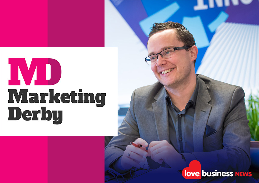 Marketing Derby is delighted to partner with Love Business and is > looking forward to exhibiting at Holywell Park, Loughborough on 17th February, 2022.