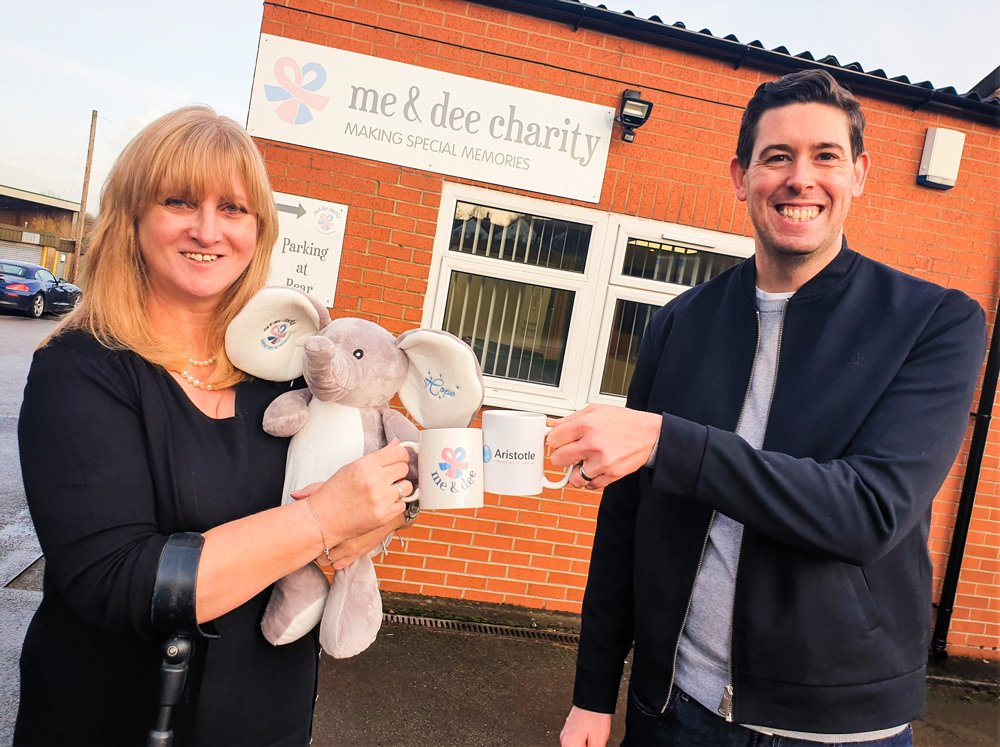 Kind-hearted Derby financial adviser agrees to share profits with city charity me&dee