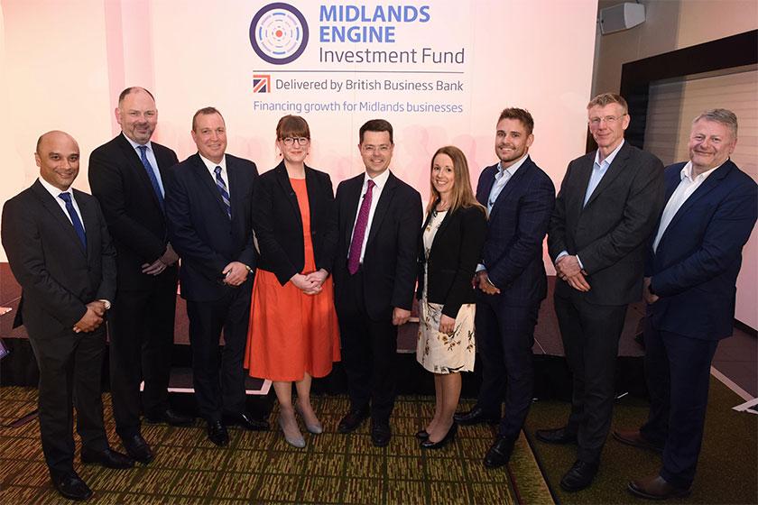 Midlands Engine Investment Fund reaches £50million milestone