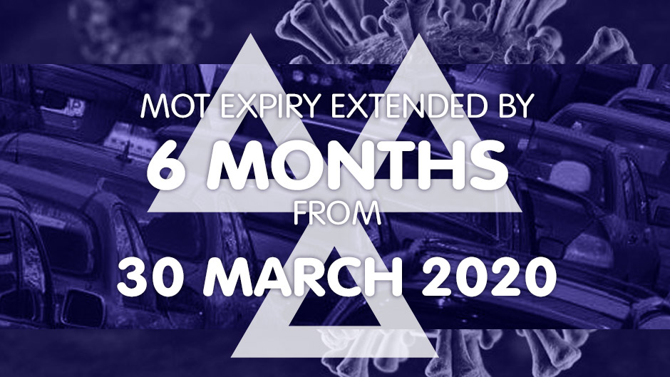 Six-month exemption from MoT testing during COVID-19 Crisis