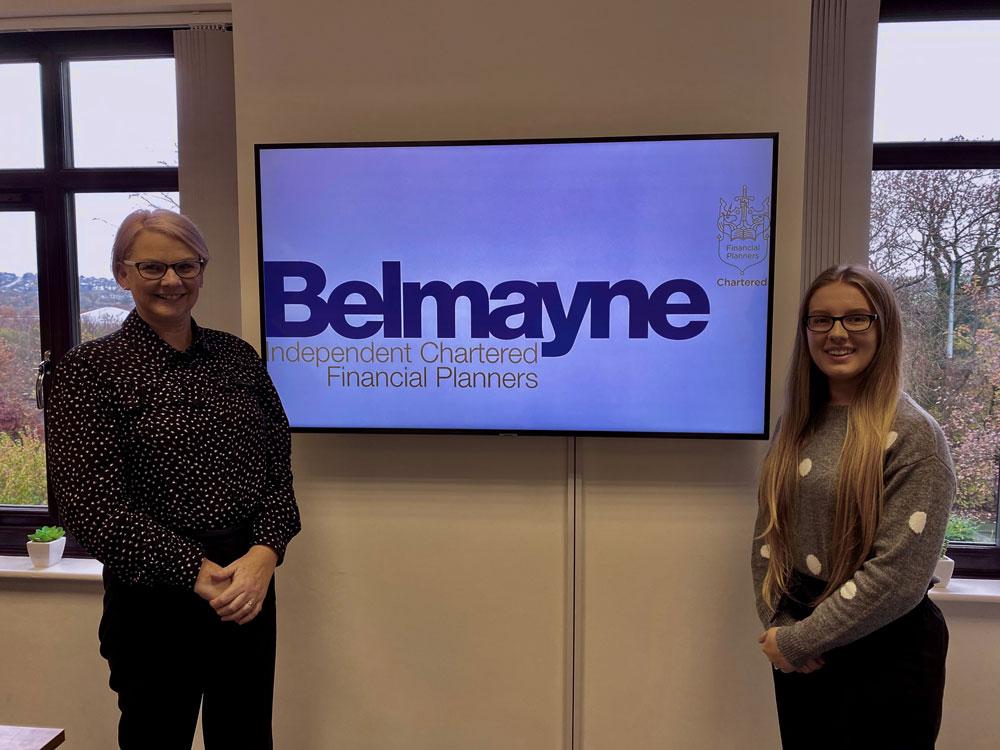 Belmayne rewards apprentice with full time role