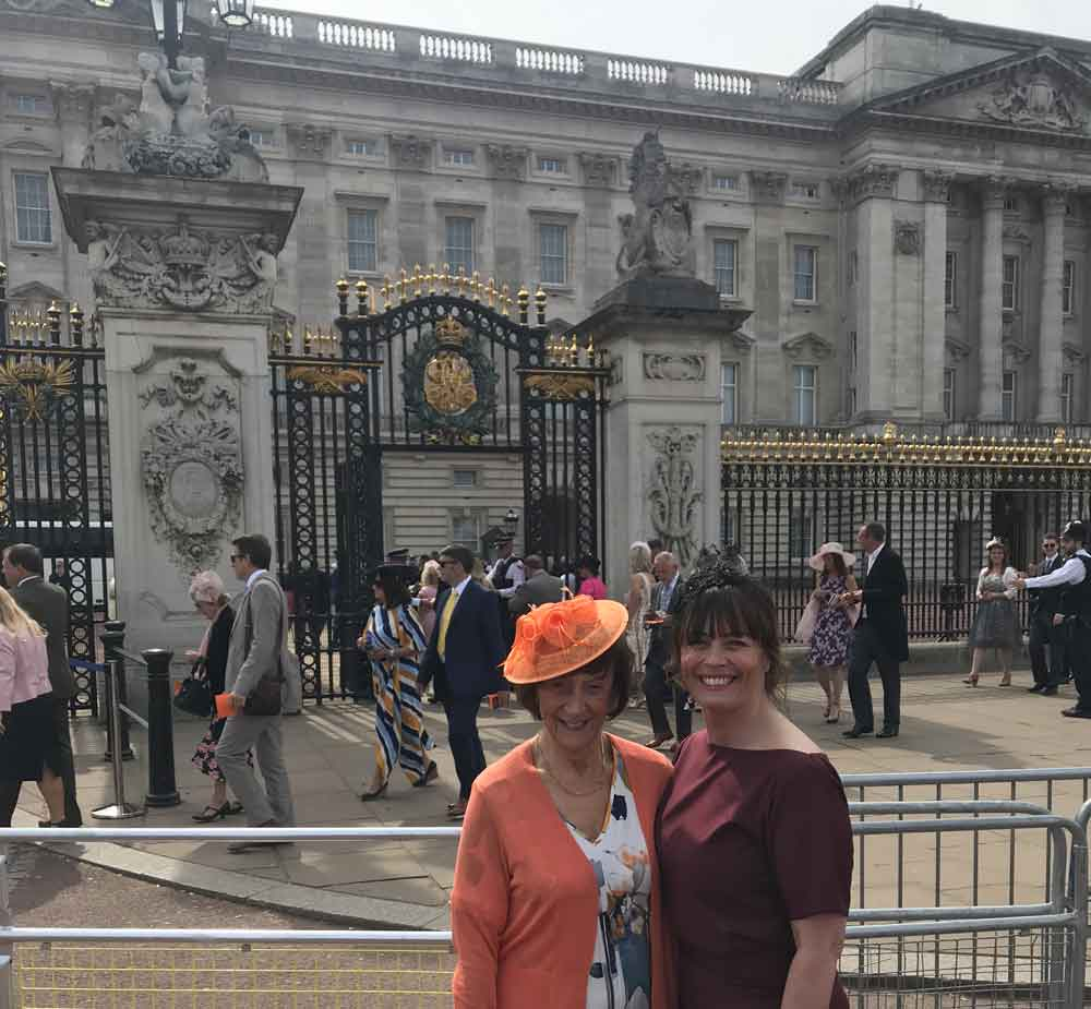 Palace Garden Party Invite For Local Businesswoman