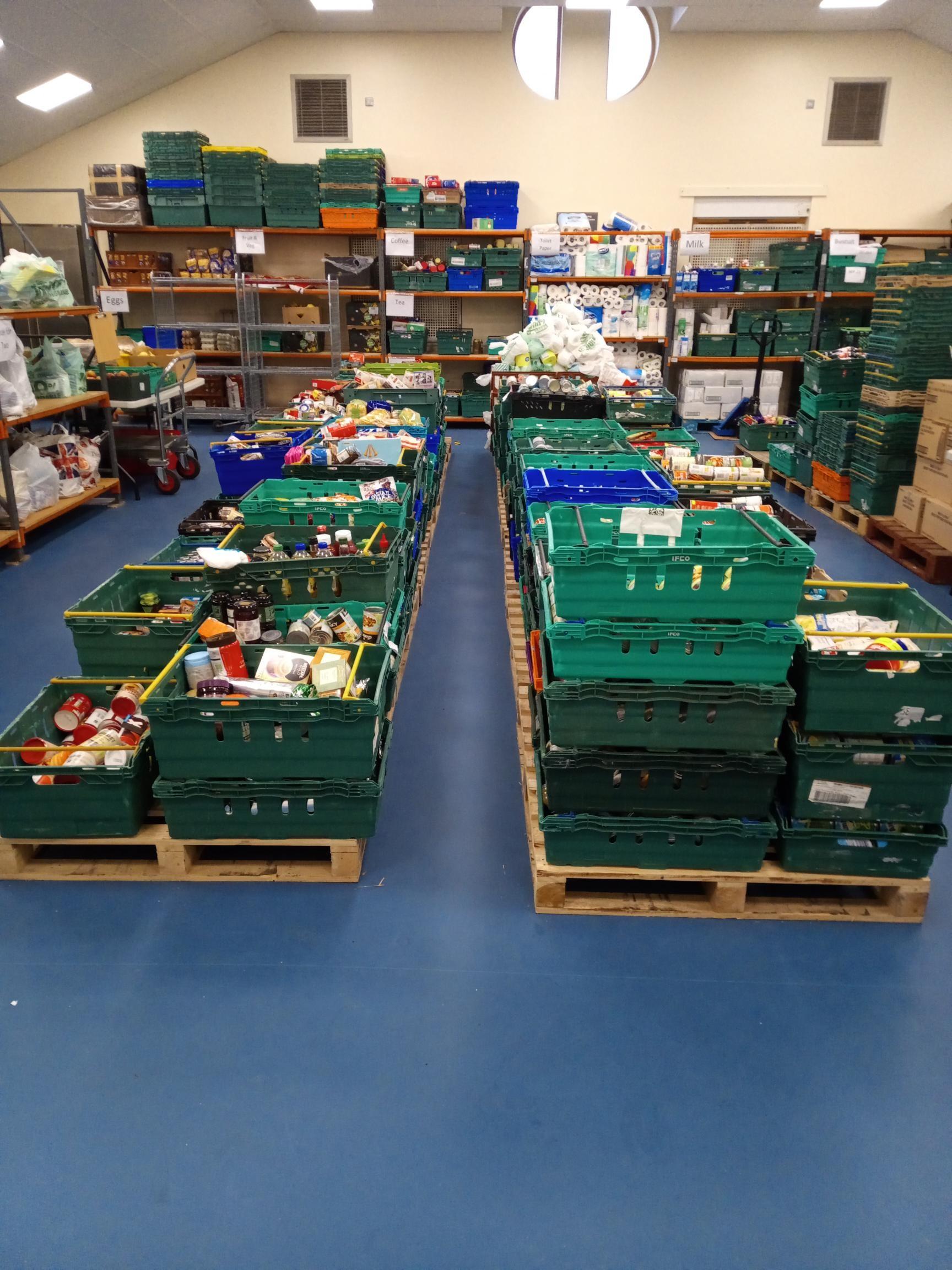 WORKSOP FOOD BANK WELCOMES AMAZON'S SUPPORT