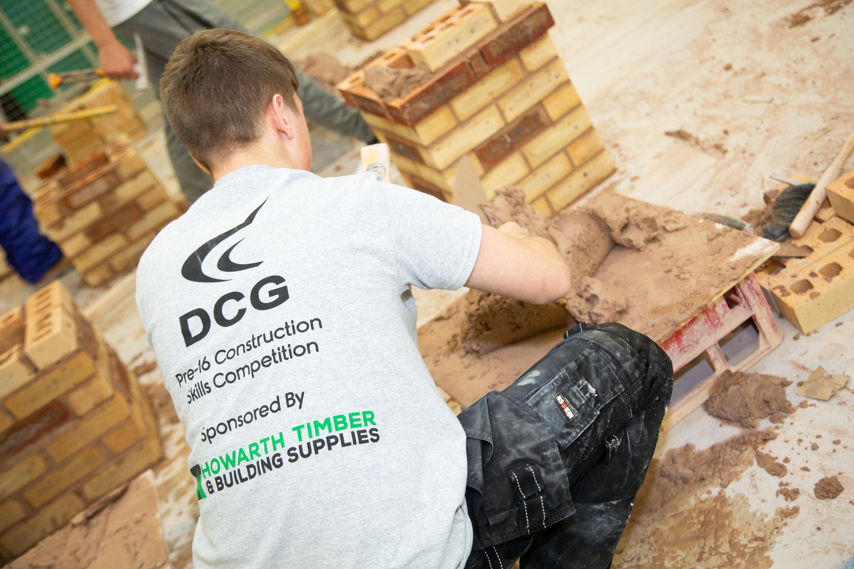 School Pupils Complete Construction Skills Challenges