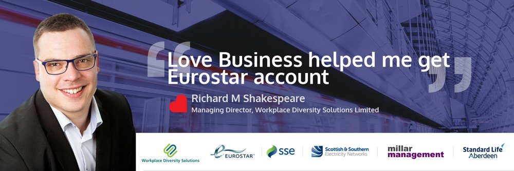 Richard Shakespeare - the UK's leading Work Place Diversity Consultant