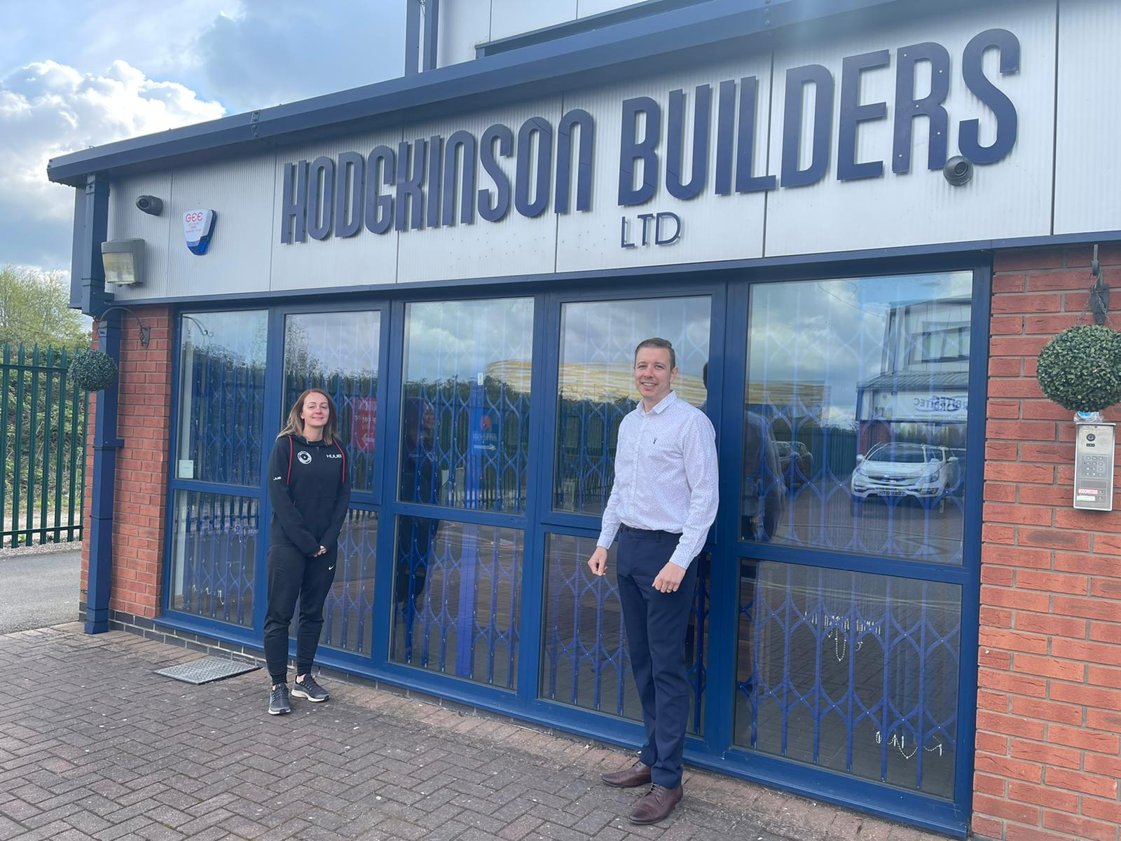 Construction firm lays foundations for sporting dreams