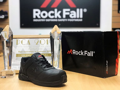 Rock Fall recognised for 3rd straight year at the 10th Annual Professional Clothing Awards